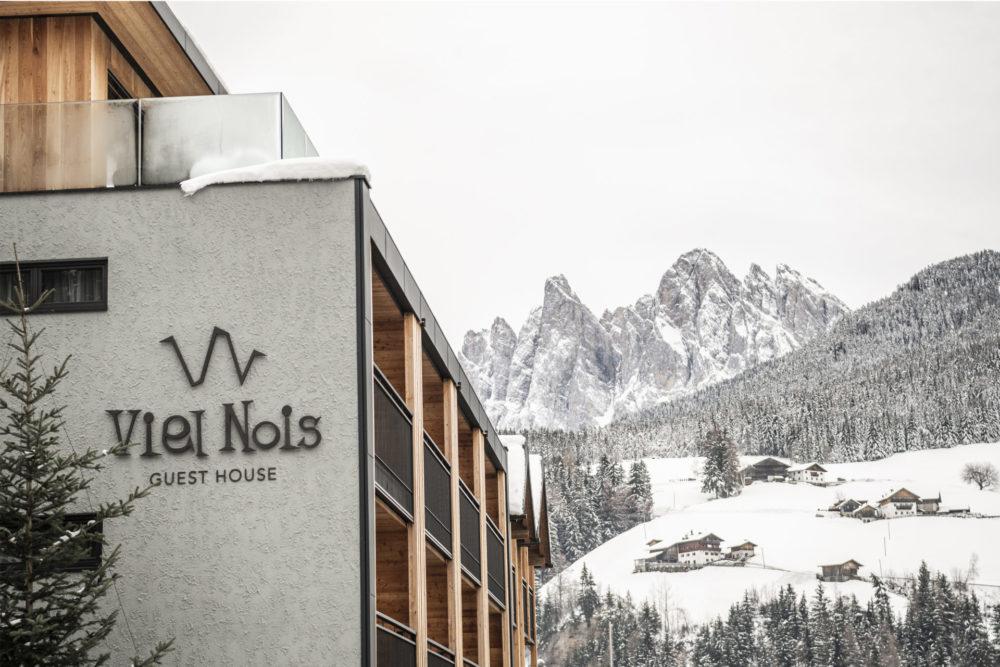 Hotelbau in Villnöss, gebaut von der Baufirma Schweigkofler aus Südtirol.