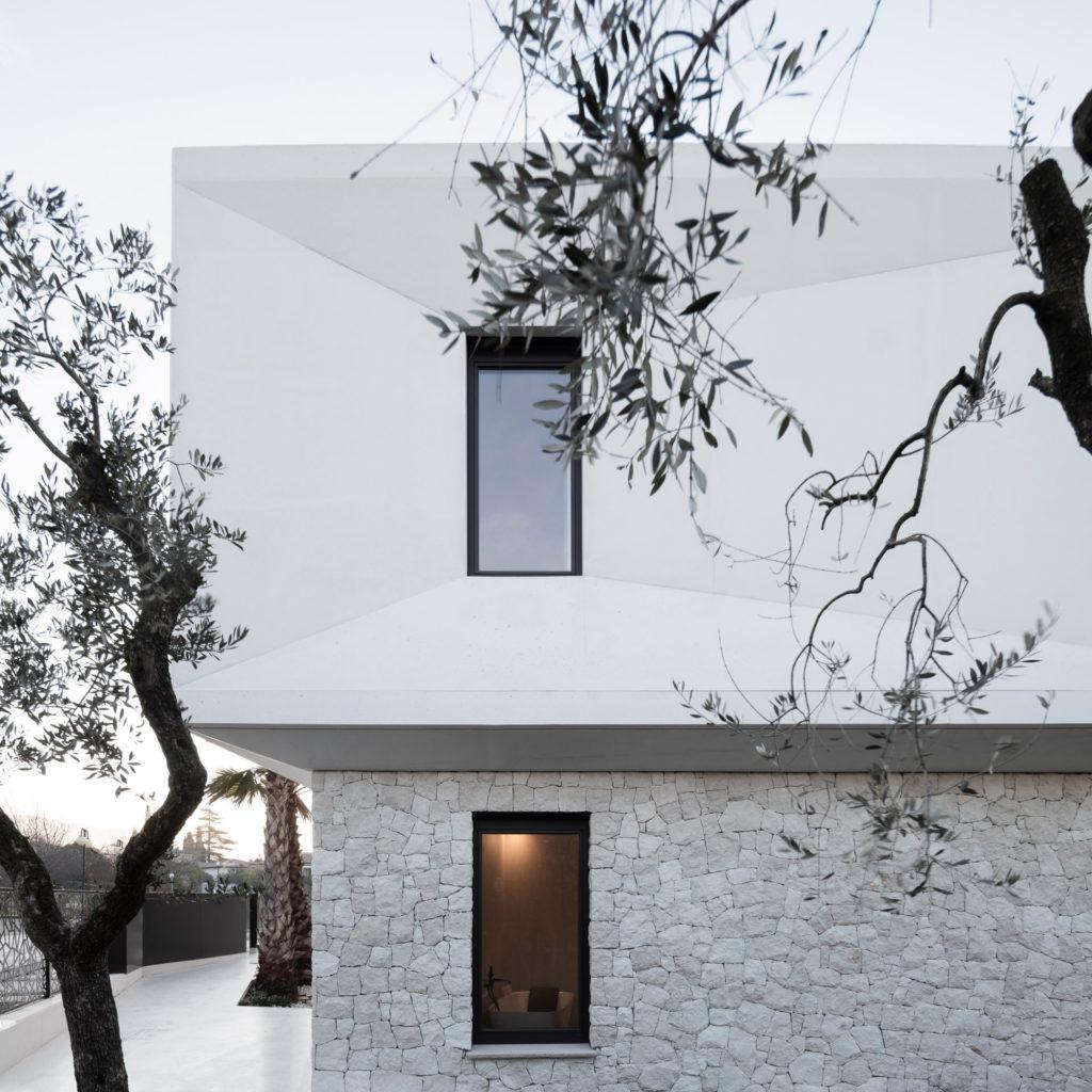 Wohnbau in Venetien, gebaut von der Baufirma Schweigkofler aus Südtirol.