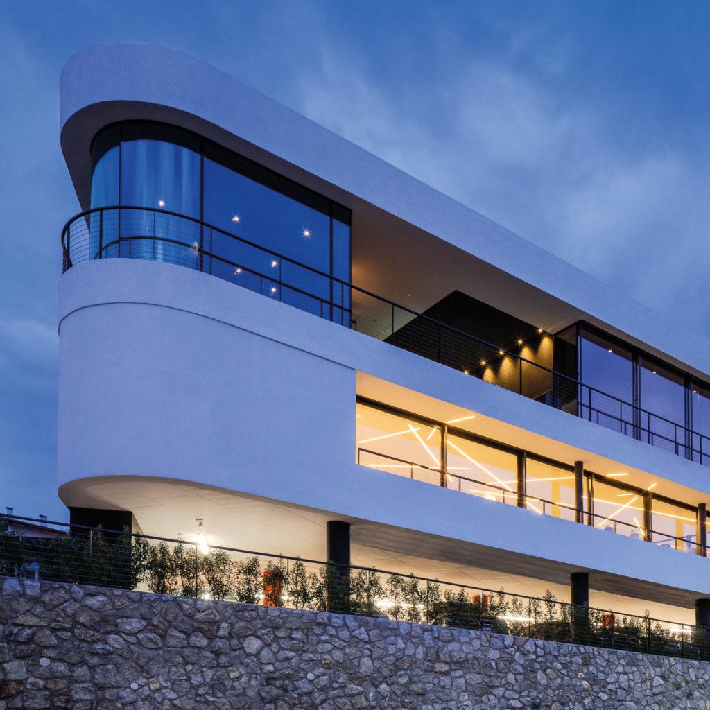 Hotel Gartner in Meran, gebaut von der Baufirma Schweigkofler aus Südtirol.