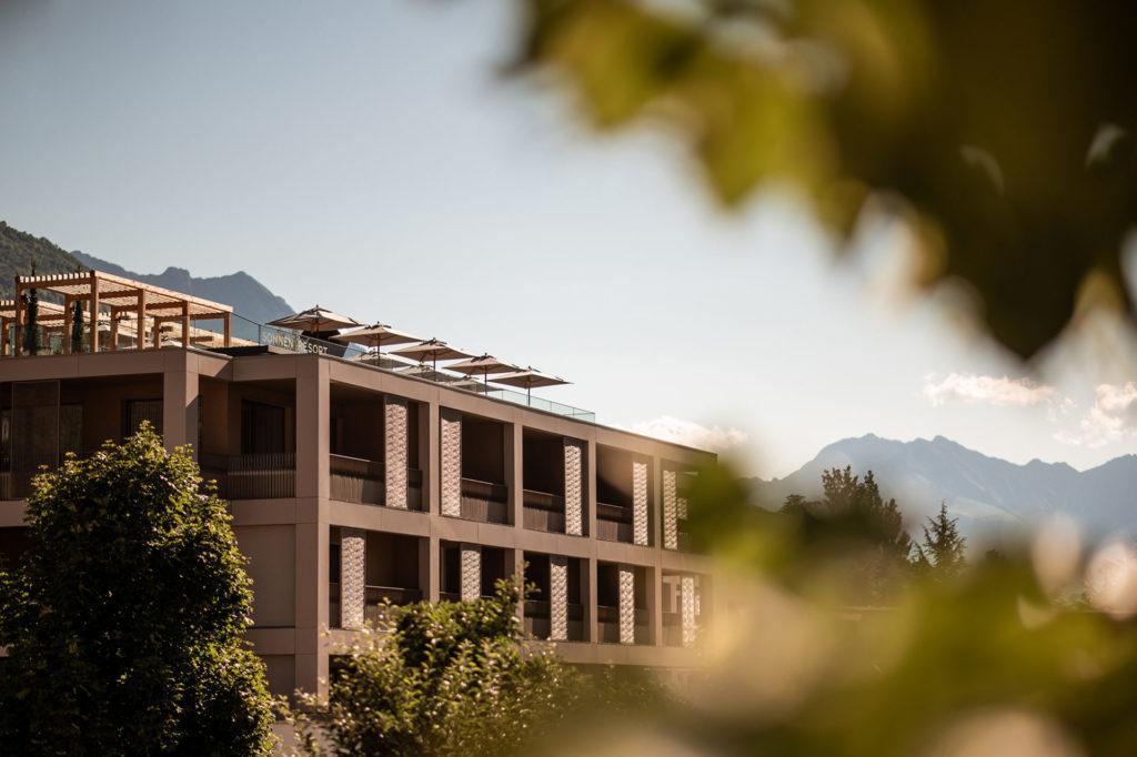 Hotelbau in Naturns. Baufirma Schweigkofler aus Südtirol.