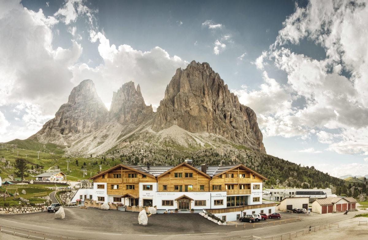 Hotelbau in Wolkenstein in Gröden. Baufirma Schweigkofler aus Südtirol.