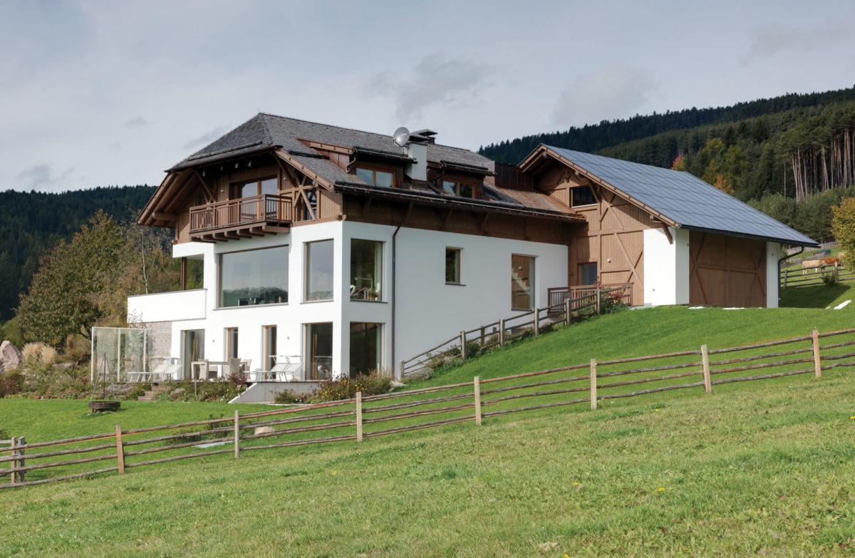 Wohnbau am Ritten. Baufirma Schweigkofler aus Südtirol.