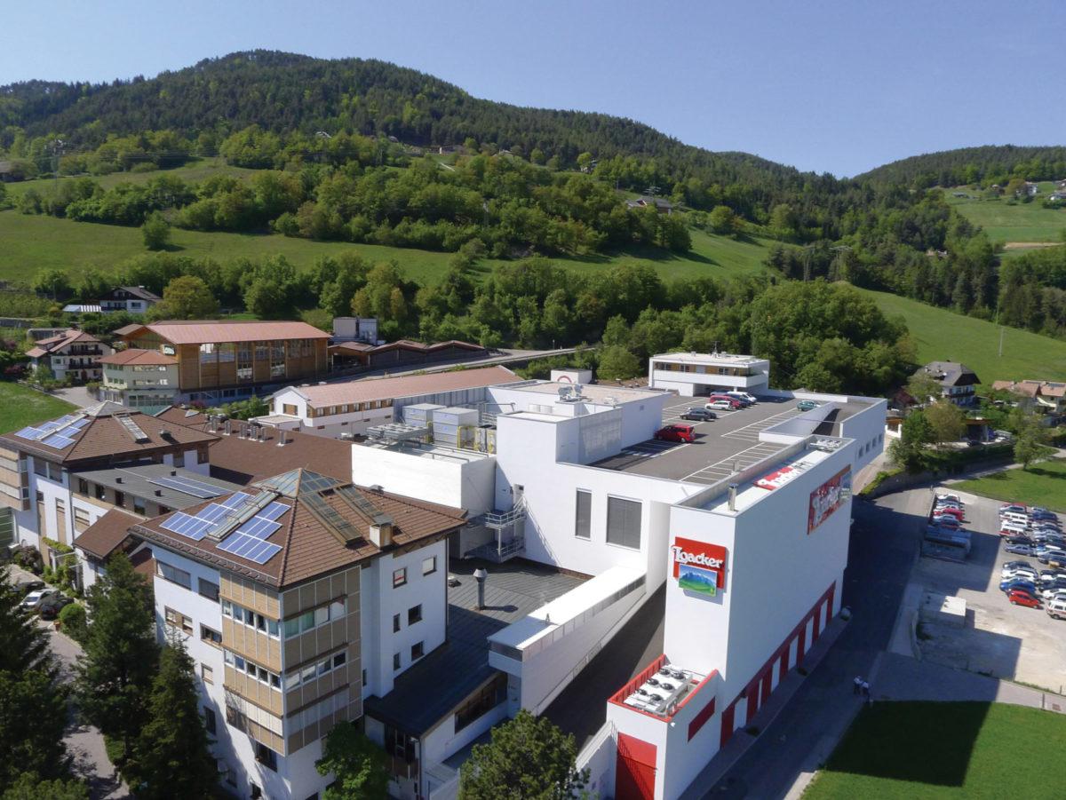 Loacker am Ritten. Gewerbebau. Baufirma Schweigkofler aus Südtirol.