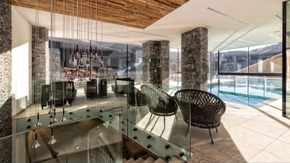 Hotelbau in St. Christina in Gröden. Baufirma Schweigkofler aus Südtirol.