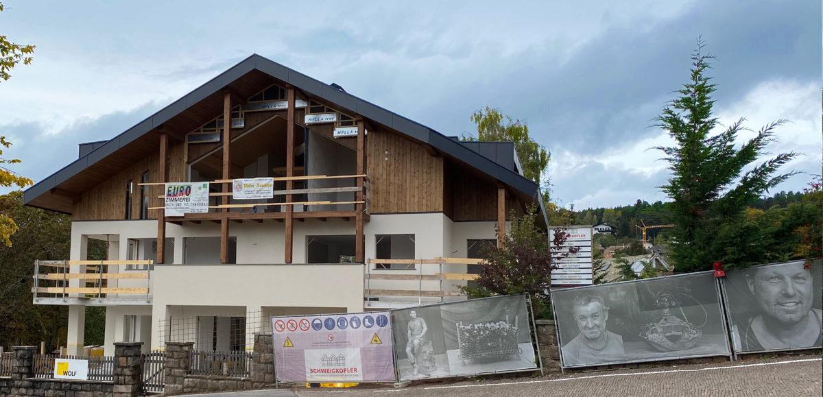 Immobile, Wohnung kaufen in Klobenstein am Ritten im Eisacktal. Direktverkauf von der Baufirma Schweigkofler.