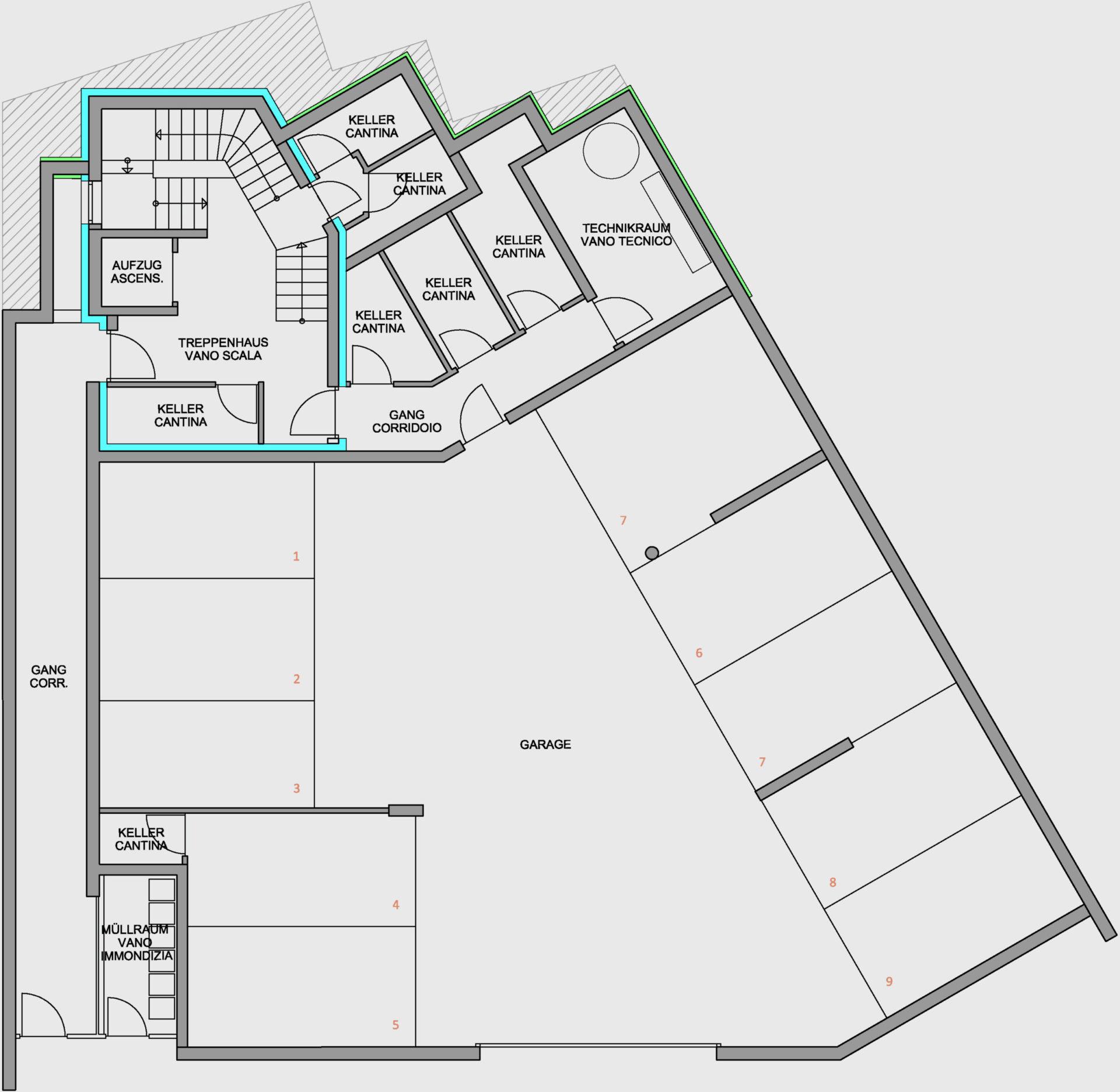 Immobilie, Wohnung kaufen in Klobenstein am Ritten. Direktverkauf von Baufirma Schweigkofler aus Südtirol.