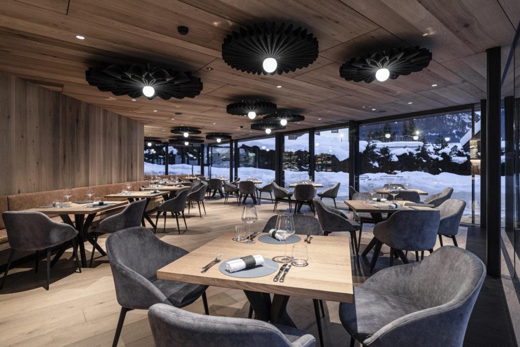 Hotelbau in Gröden, gebaut von der Baufrima Schweigkofler aus Südtirol.